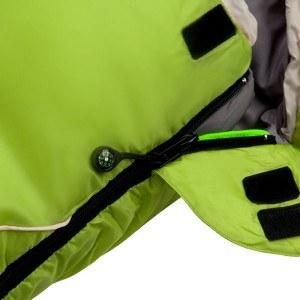Achten Sie beim Kauf eines Schlafsackes auf die Qualität des Reißverschlusses.