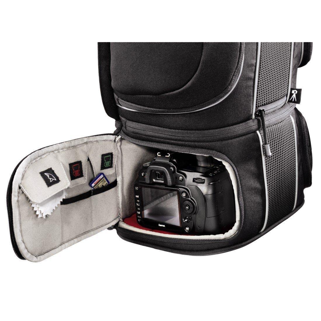 Hama Kamerarucksack Für Zwei Spiegelreflexkameras Und Objektive 3
