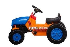 Hochwertiger Trettraktor 311 mit Anhängerkupplung, Tretauto, Traktor, Mit Hupe, Verstellbarer Sitz, Schadstofffreies Spielzeug