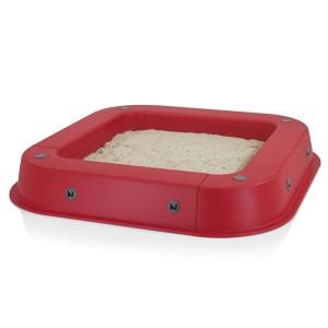 Kettler S07022-0010 - Sandkasten, rot