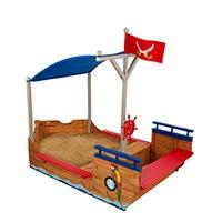 KidKraft 128 - Sandkasten Piratenschiff