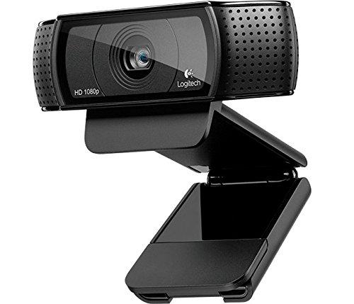 Logitech C920 HD Pro Webcam Mit USB Und 1080p Schwarz