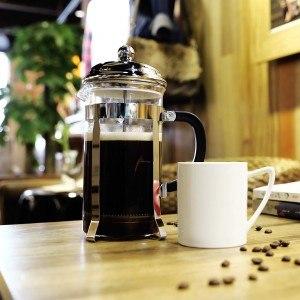 Miusco 18/8 Edelstahl isolierende Doppelwand French Press Kaffee Tee & Espresso Maker, 1 Liter 34 oz 8 Tassen, klassischen chrome …