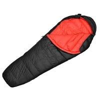 Der Mountaintop Daunenschlafsäcke Mumienschlafsack wurde auf Platz 9 gewählt.