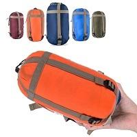 OZAVO Camping Schlafsack - kompakter Begleiter für das sommerliche Campingvergnügen