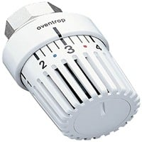 Oventrop Thermostat Uni LH *1-5 weiss mit Nullstellung 7-28 °C
