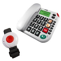 Das Pflegerufset Senioren-Notruf-Telefon belegt Platz 5.