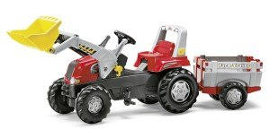 Rolly Toys 811397 - Traktor Junior RT Farm Trailer, rot