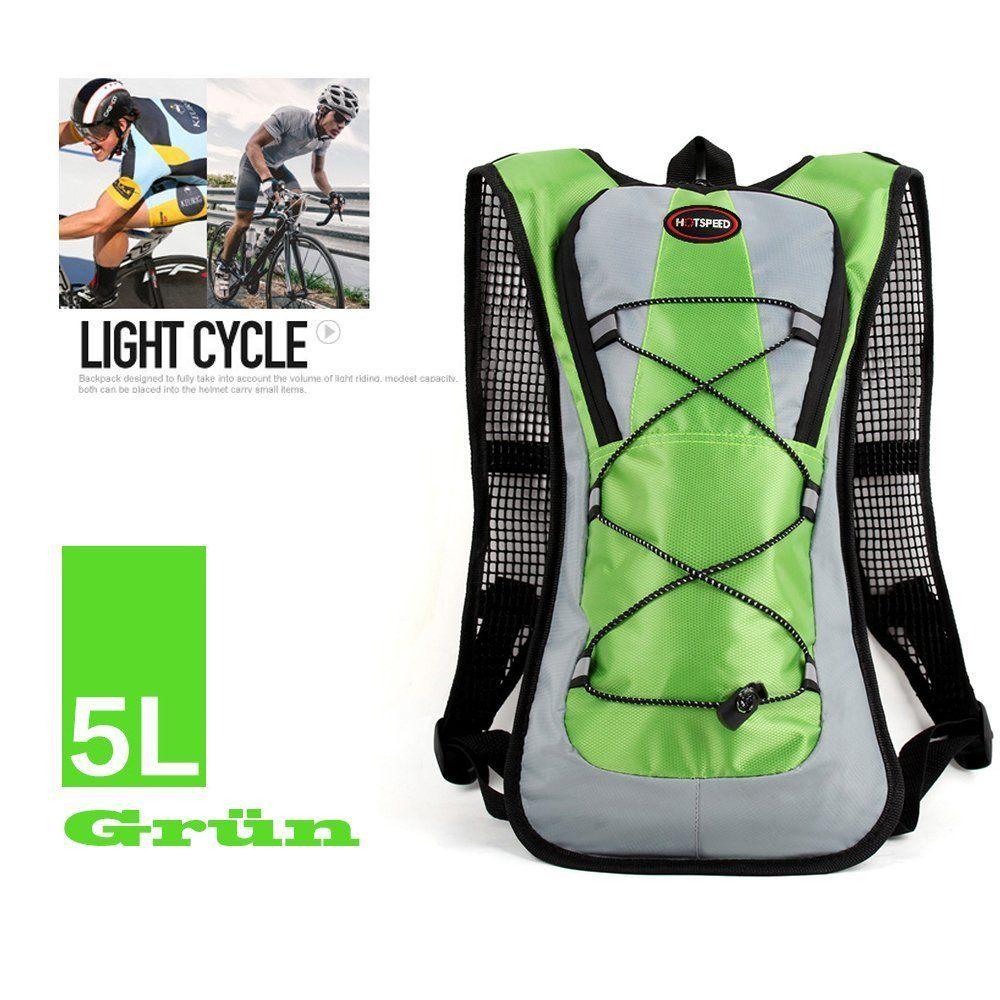 SHTH Damen Herren Trekking Fahrradrucksack 3