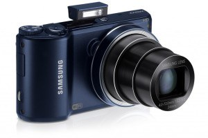 Samsung WB200F Smart-Digitalkamera (14,2 Megapixel, 18-fach opt. Zoom, 7,6 cm (3 Zoll) LCD-Display, bildstabilisiert, WiFi) kobalt schwarz