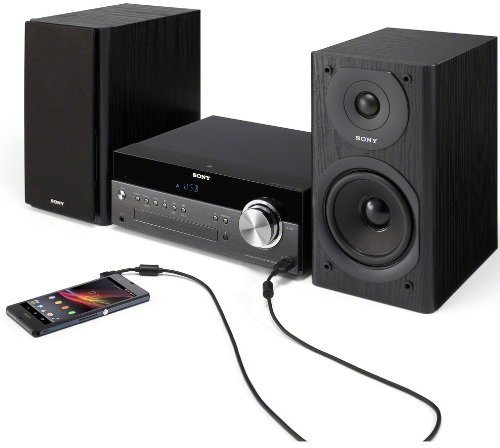 Sony CMT SBT300W Netzwerk Micro Kompakt System