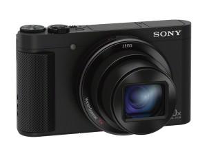 Sony DSC-HX90 Kompaktkamera (7,5 cm (3 Zoll) Display, 30x opt. Zoom, 60x Klarbild-Zoom, Weitwinkelobjektiv, NFC, WiFi Funktion, Superior iAuto Modus, 5-Achsen Bildstabilisator, Full HD-Video ) schwarz