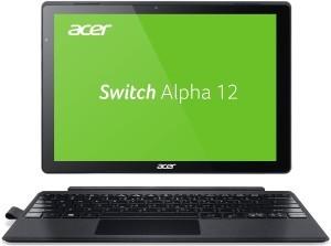 Acer Switch Alpha 12 (SA5-271-53QS) 30,5 cm (12 Zoll QHD IPS) Convertible Notebook (Intel Core i5-6200U, 8GB RAM, 256GB SSD, Intel HD Graphics 520, Win 10) silber