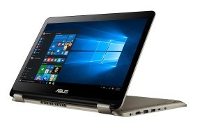 Asus Transformer Book Flip TP301UJ-C4097T 33,7 cm (13,3 Zoll FHD Touch) Notebook (Intel Core i7-6500U, 8GB, 512GB SSD, Nvidia 920M, Win10) gold
