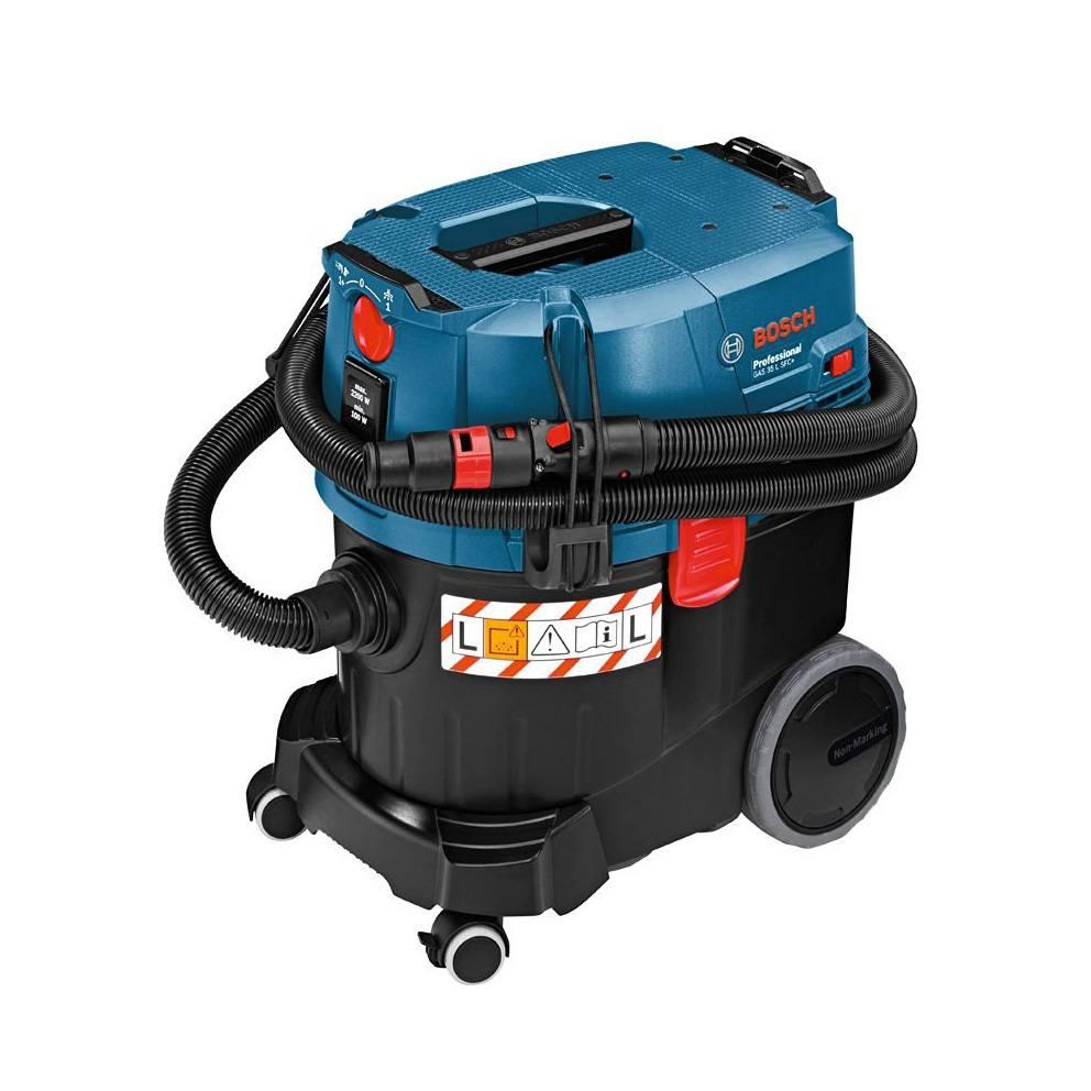 Industriestaubsauger Bosch Professional GAS 35 L SFC zusammengepackt