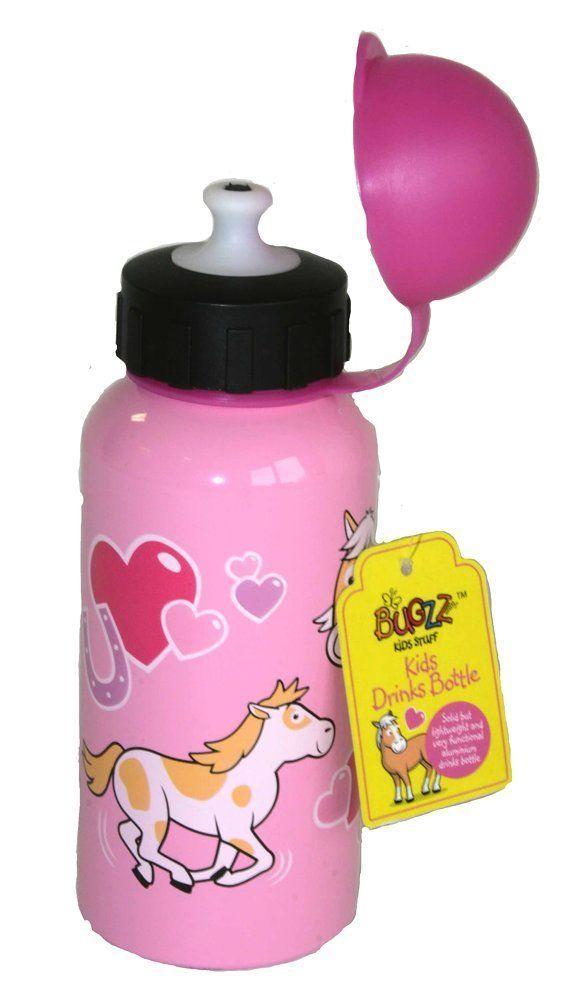 Bugzz Trinkflasche Im Pony Design