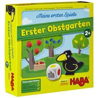 Das Gesellschaftsspiel HABA 4655 - Meine ersten Spiele - Erster Obstgarten belegt Platz 9 im Gesellschaftsspiele Test.