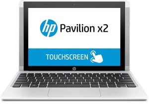 HP Pavilion x2 (10-n104ng) 25,7 cm (10,1 Zoll) Convertible Tablet-PC (Intel Atom x5-Z8300, 4GB RAM, 500GB HDD, 32GB eMMC, Windows 10) weiß