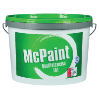 McPaint Wandfarbe Qualitätsweiß