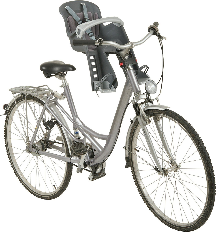 Polisport Kindersitze Babytrage Bilby Junior Fronthalterung Grau PO8632600002
