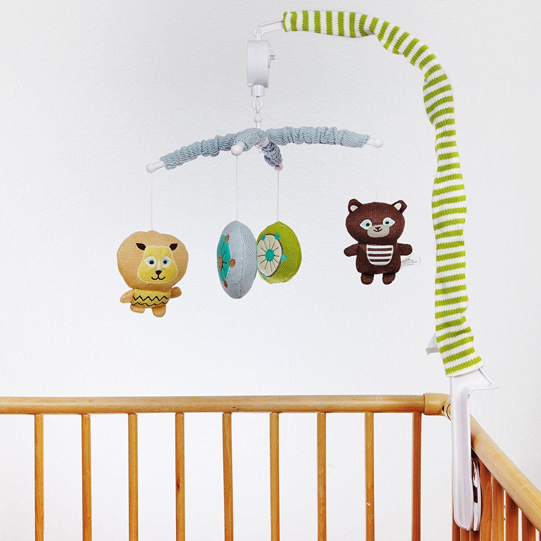 SmileBaby Musik Mobile Babybett Spieluhr