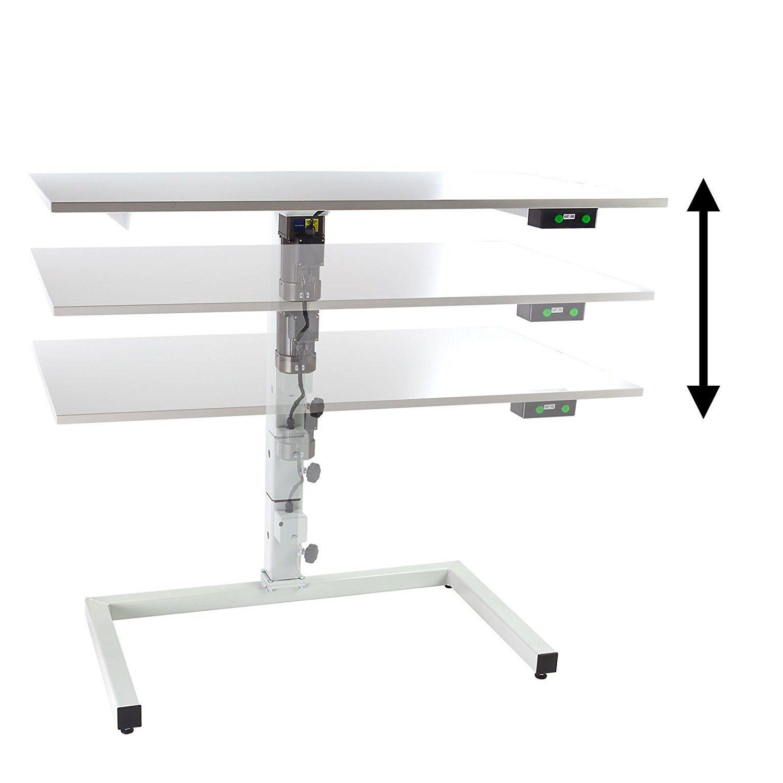 h henverstellbarer tisch mit elektroantrieb von dema im. Black Bedroom Furniture Sets. Home Design Ideas