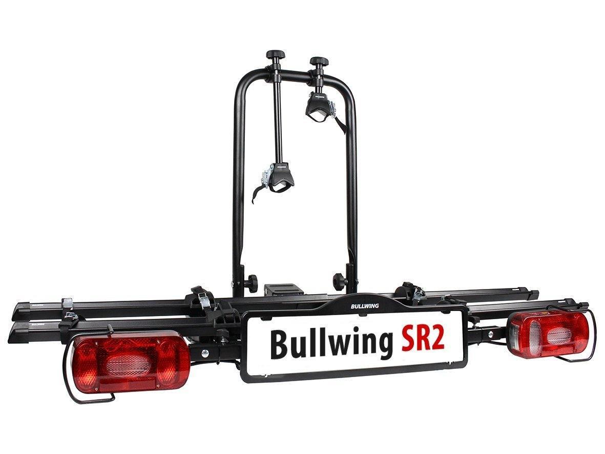 Heck-Fahrraträger SR 2 von Bullwing in der Frontansicht