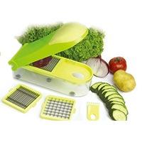 Gemüse Schneider Früchteschneider Obst und Gemüse sekundenschnell zerkleinert