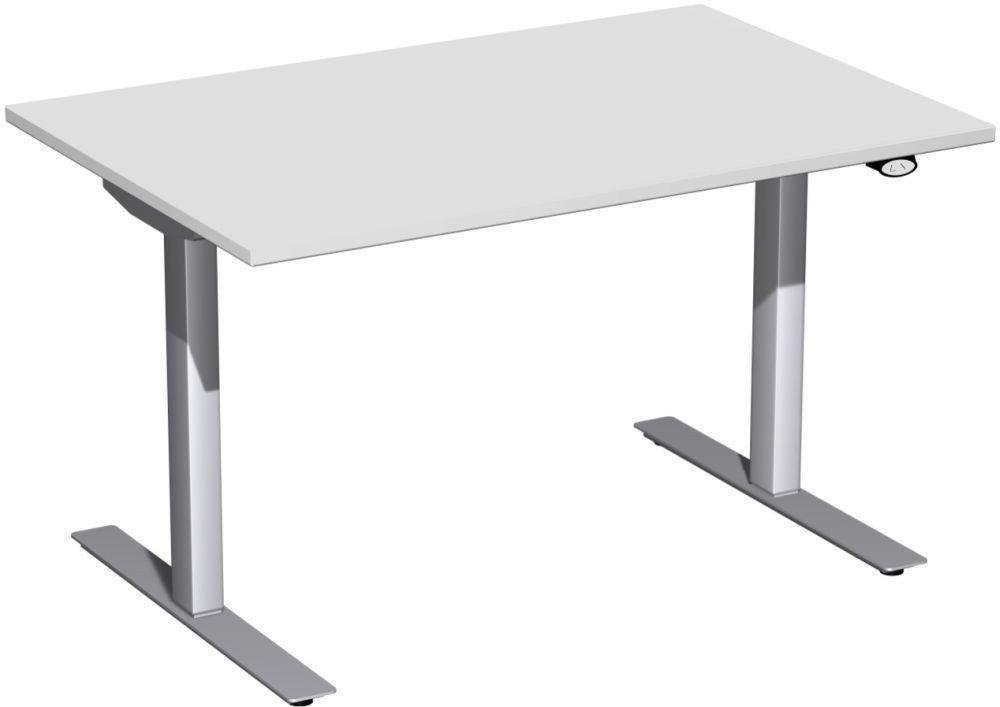 Ikea Ideen Für Jugendzimmer ~   elektrisch höhenverstellbarer Schreibtisch in attraktiven Farben
