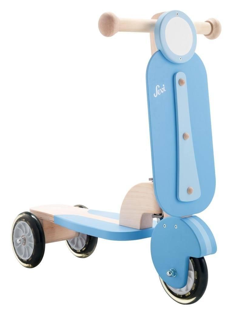 Sevi 82021 Tretroller Blau