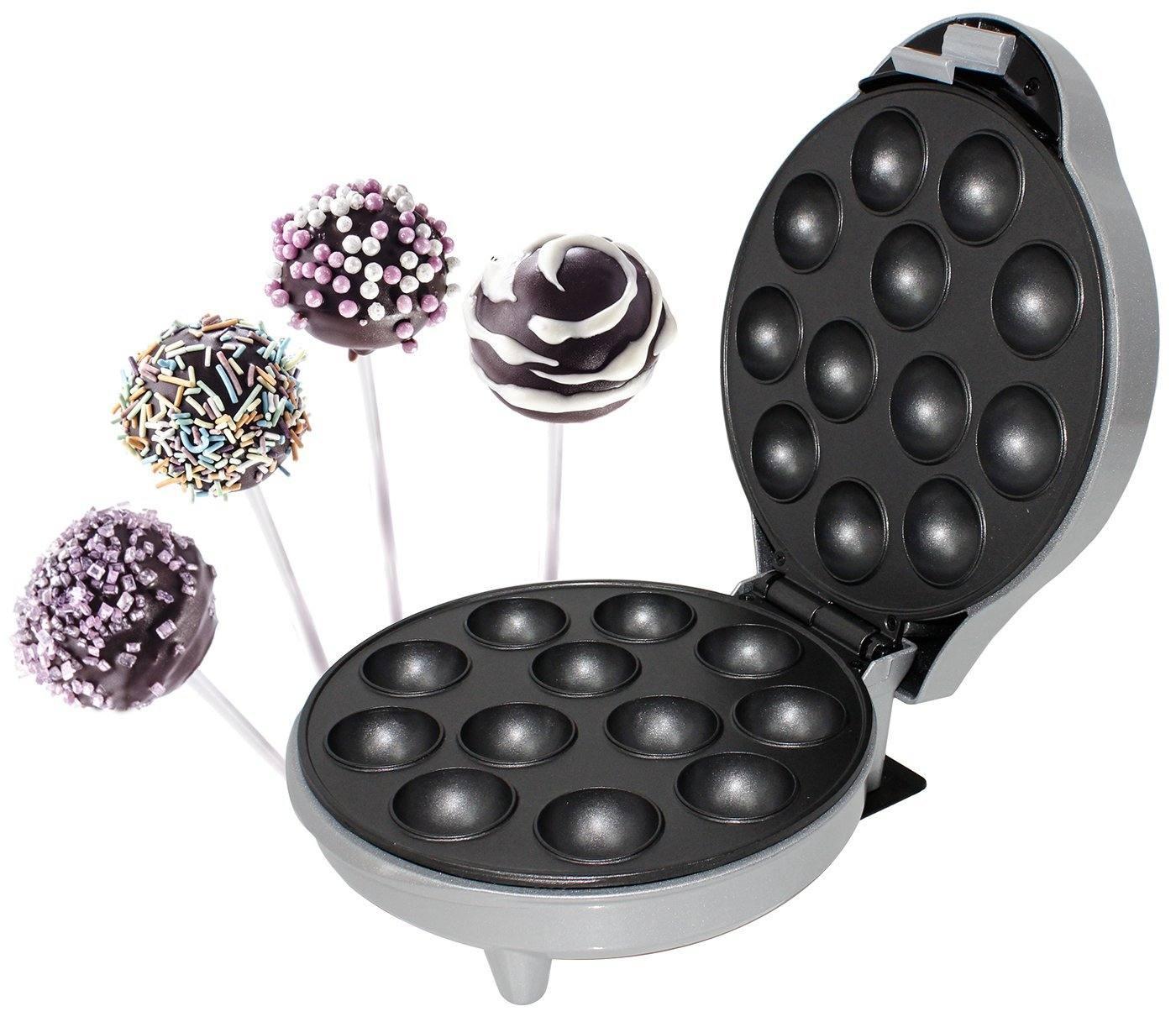Superior Popcake Maker Mit Antihaftbeschichteten Heizplatten