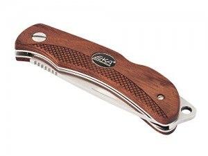 Das Eka Swede 8 Taschenmesser mit 12C27-Stahl und Bubinga-Holz im Vergleich