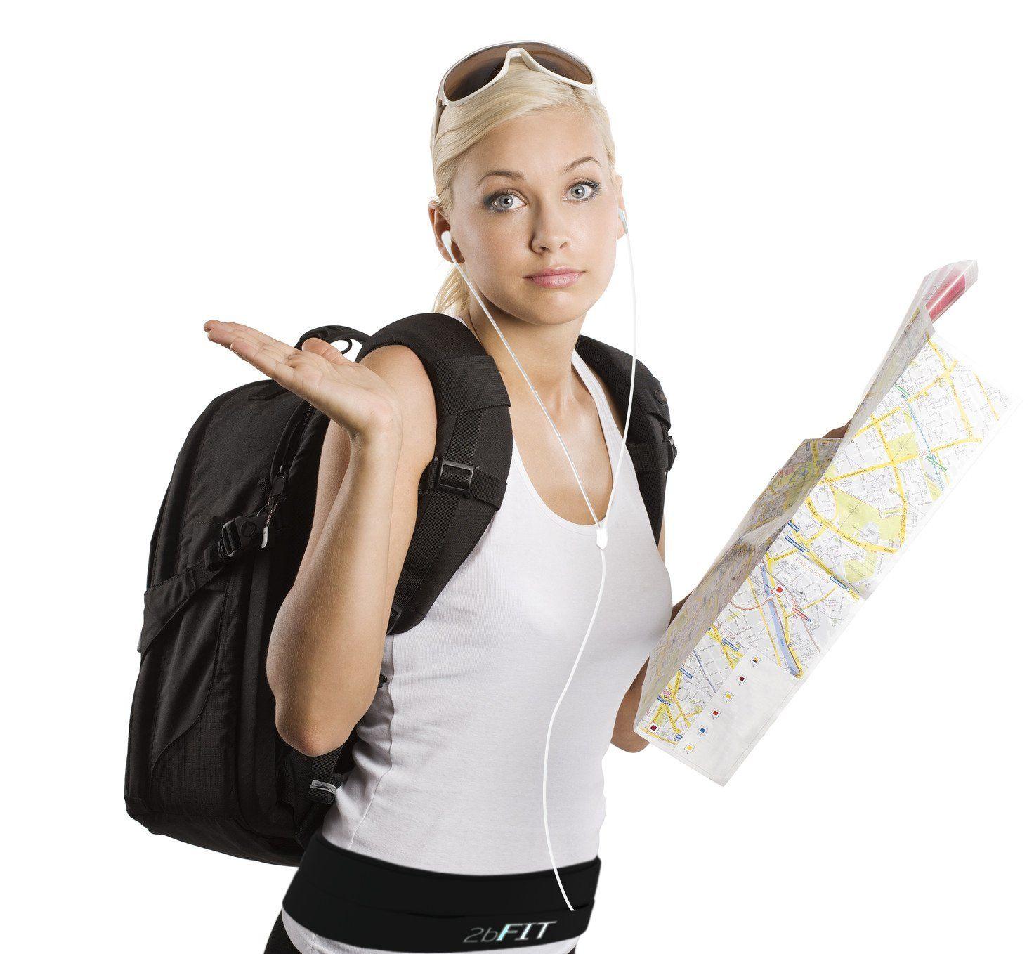 2bFIT Jogging Gürtel – Hüfttasche – Perfekt Für Workouts