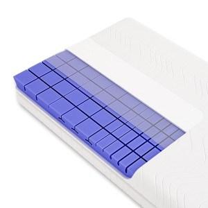 3D 7-Zonen Würfelschnitt HR-Kaltschaummatratze ca. 19cm Gesamthöhe, RG50, geprüfter KERN + Bezug (TÜV Rheinland, LGA) - LUXUSLINE - SCHLUMMERPARADIES Matratze ( 100x200 cm, h3 )