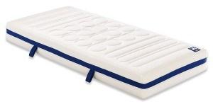 Badenia 03888400132 Bettcomfort Kaltschaummatratze Irisette Vitaflex Flextube Härtegrad 3, 100 x 200 cm, weiß