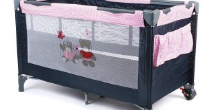 CHIC 4 BABY 340 53 Reisebett Luxus, Pink Checker
