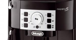 Ansicht Bedienelement vom DeLonghi ECAM 22.110.B Kaffee-Vollautomat (1450 Watt, 1,8 Liter, 15 bar, Dampfdüse) schwarz