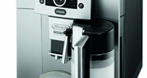 DeLonghi One Touch ESAM 5500 Kaffee-Vollautomat (1,7 Liter, 15 bar, Milchbehälter, Pronto Cappuccion Funktion) silber