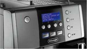 Bedienelement vom DeLonghi One Touch ESAM6600 Kaffee-Vollautomat PrimaDonna (1,8 Liter, Milchbehälter) silber