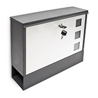 Design Briefkasten Metall