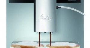 Melitta E 970-306 Kaffeevollautomat Caffeo CI One-touch Cappuccino (LCD-Display, 2 x 135 g Bean Select, 15 bar, Cappuccinatore) hochglanz silber