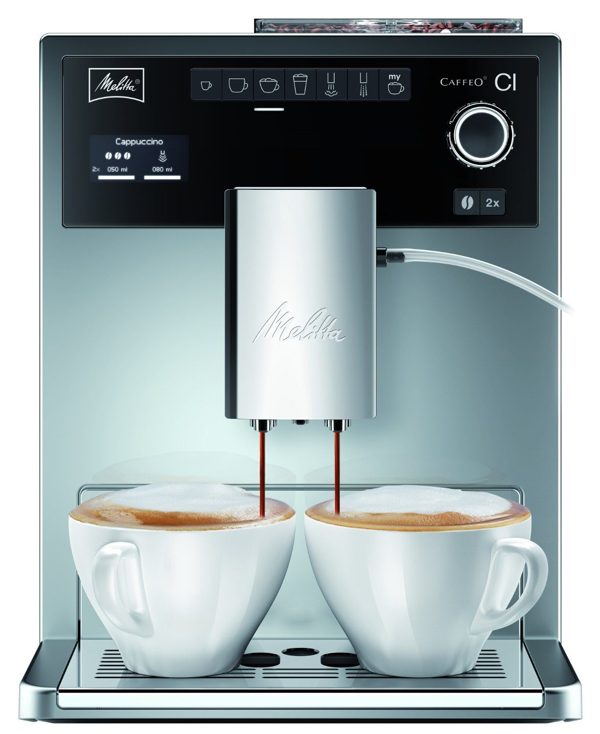 melitta e 970 306 kaffeevollautomat expertentesten. Black Bedroom Furniture Sets. Home Design Ideas