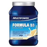 Das Eiweißpulver Multipower Formula 80 Evolution