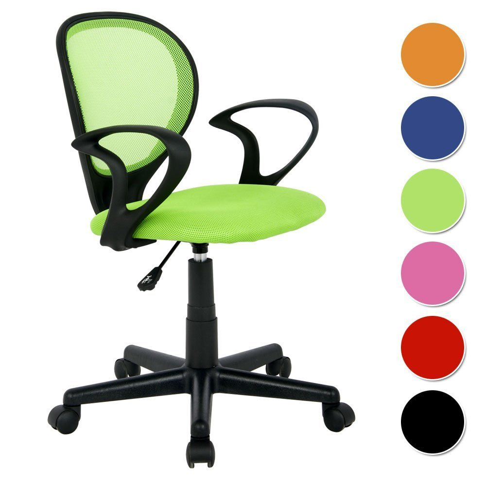 SixBros. Bürostuhl Drehstuhl Schreibtischstuhl Grün