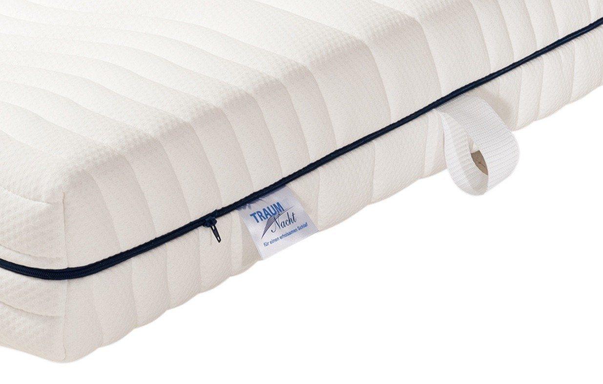 traumnacht die orthop dische kaltschaummatratze f r. Black Bedroom Furniture Sets. Home Design Ideas