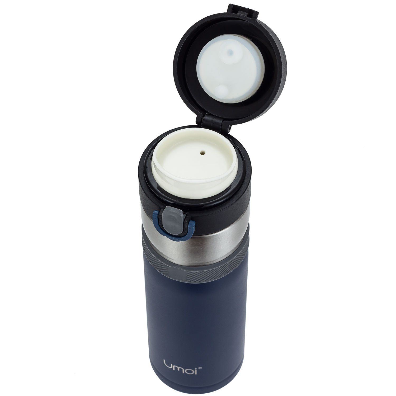 UMOI Vakuum Travel Mug Isolierter Thermobecher 420ml