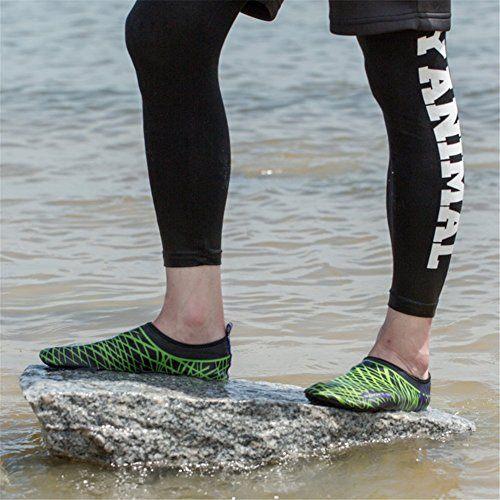 Unisex Strandschuhe Aquaschuhe Breathable Schlüpfen Schnell Trocknend Schwimmschuhe Surfschuhe Für Damen Herren Kinder Baby 5