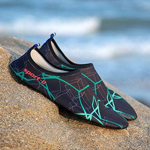 Unisex Strandschuhe Aquaschuhe Breathable Schlüpfen Schnell Trocknend Schwimmschuhe Surfschuhe Für Damen Herren Kinder Baby 6