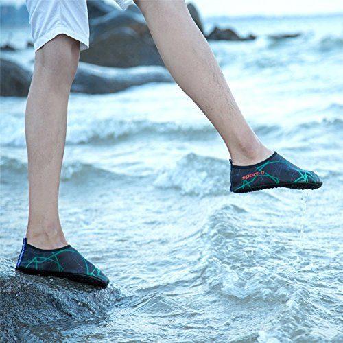Unisex Strandschuhe Aquaschuhe Breathable Schlüpfen Schnell Trocknend Schwimmschuhe Surfschuhe Für Damen Herren Kinder Baby 7