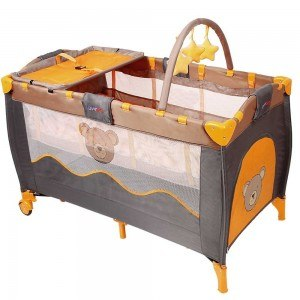 infantastic Honey Bear Kinderreisebett